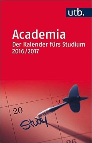 Academia 2016/17 der Kalender fürs Studium