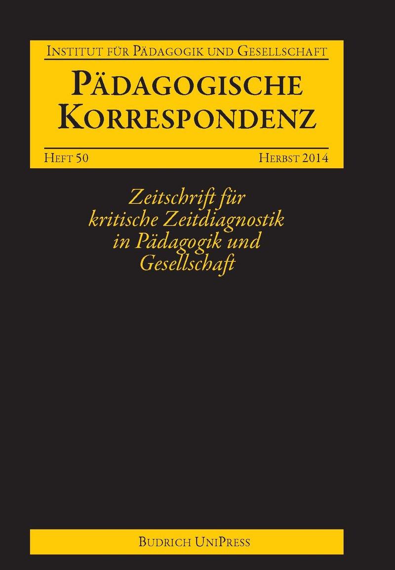 Pädagogische Korrespondenz 50 (2-2014): Freie Beiträge