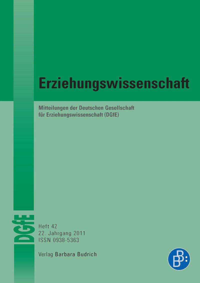 Erziehungswissenschaft 1-2011: Freie Beiträge