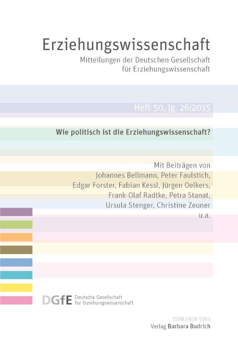 Erziehungswissenschaft 1-2015: Wie politisch ist die Erziehungswissenschaft?