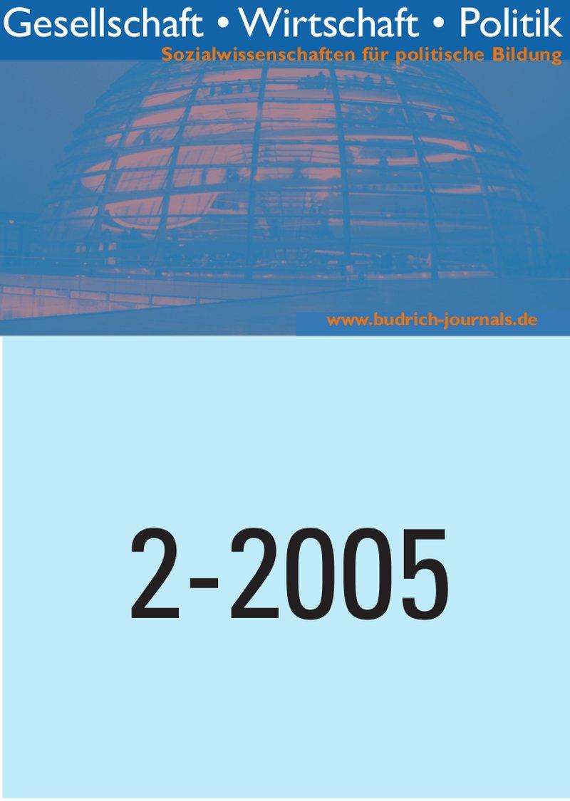 GWP – Gesellschaft. Wirtschaft. Politik 2-2005: Freie Beiträge