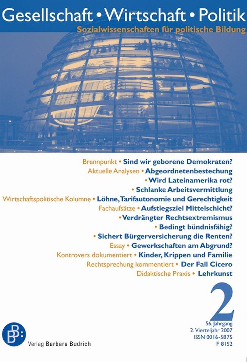 GWP – Gesellschaft. Wirtschaft. Politik 2-2007: Freie Beiträge