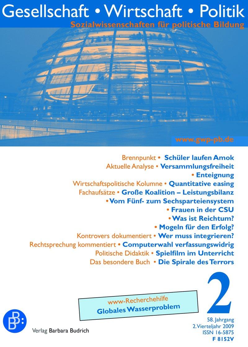 GWP – Gesellschaft. Wirtschaft. Politik 2-2009: Freie Beiträge