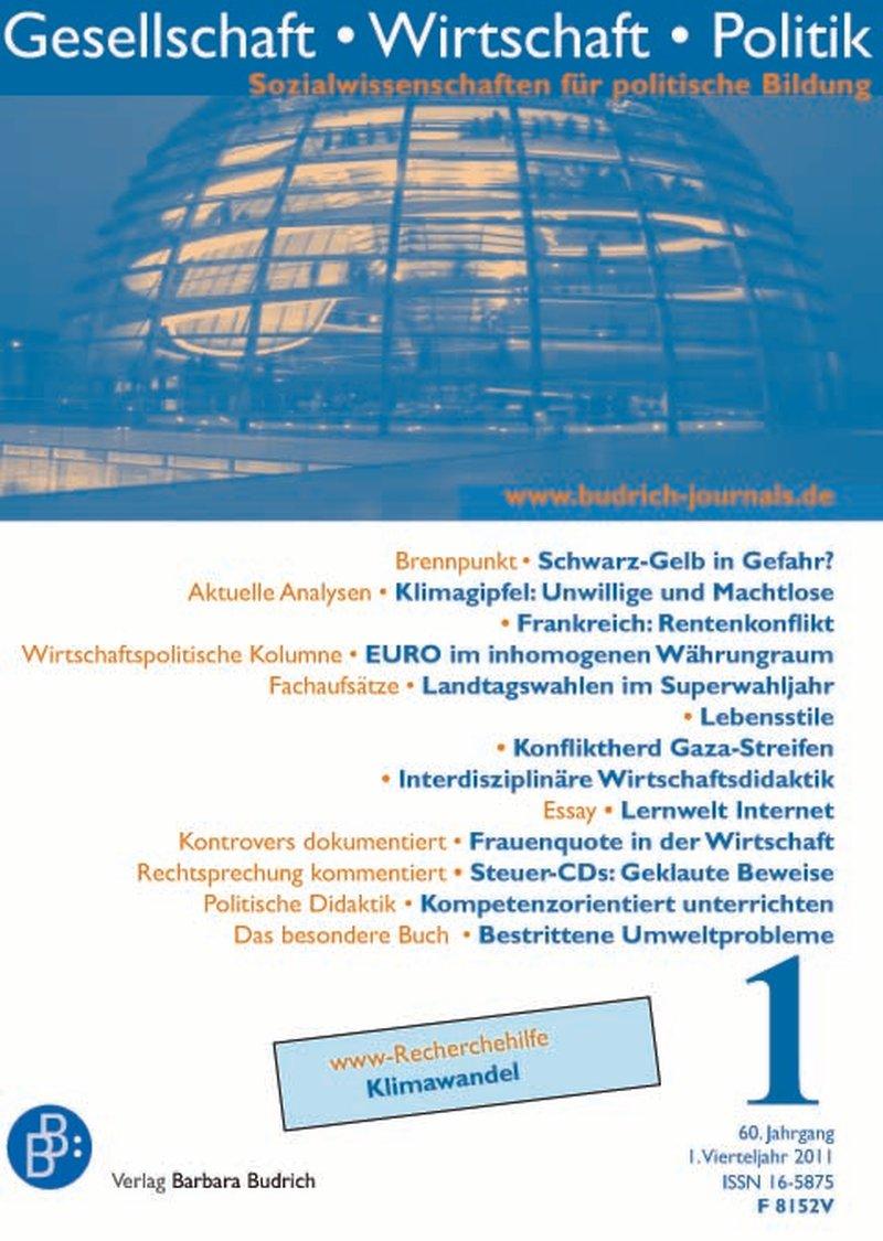 GWP – Gesellschaft. Wirtschaft. Politik 1-2011: Freie Beiträge
