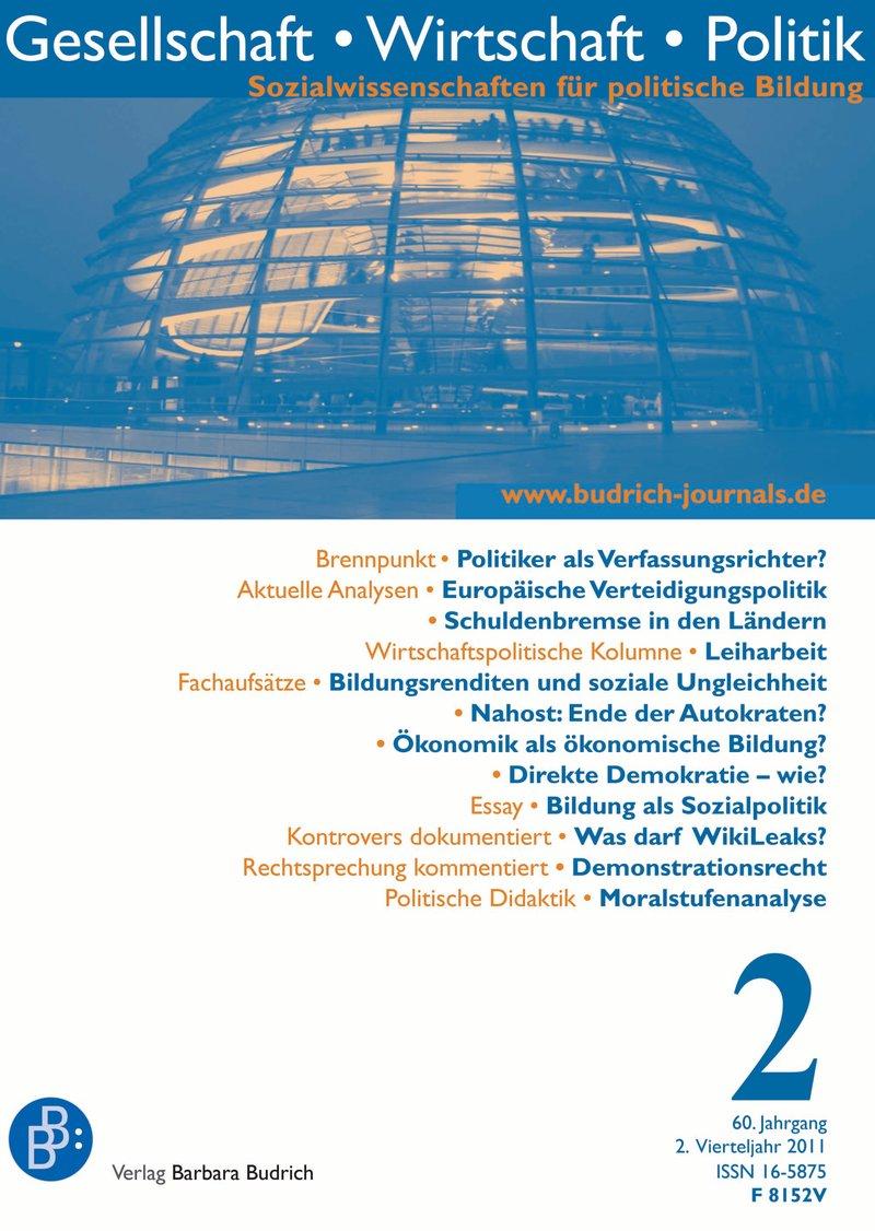 GWP – Gesellschaft. Wirtschaft. Politik 2-2011: Freie Beiträge