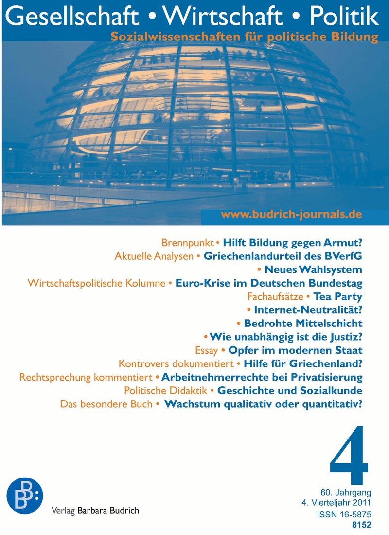 GWP – Gesellschaft. Wirtschaft. Politik 4-2011: Freie Beiträge