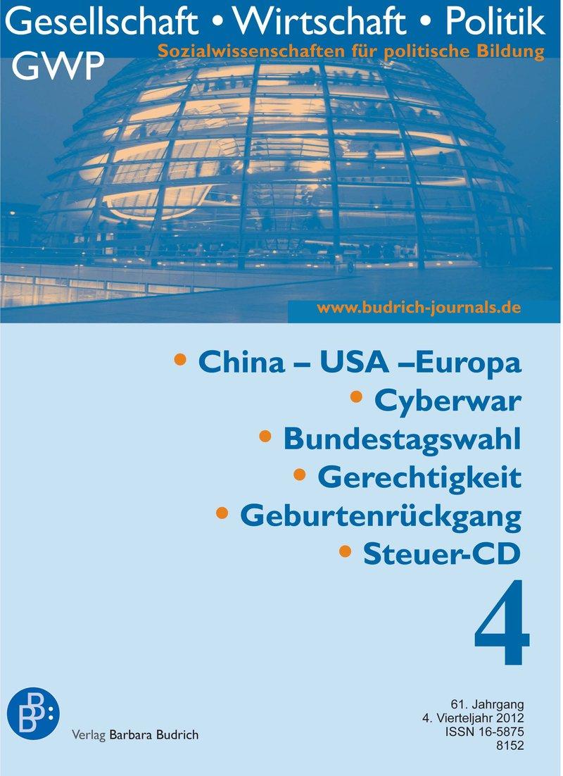 GWP – Gesellschaft. Wirtschaft. Politik 4-2012: Freie Beiträge
