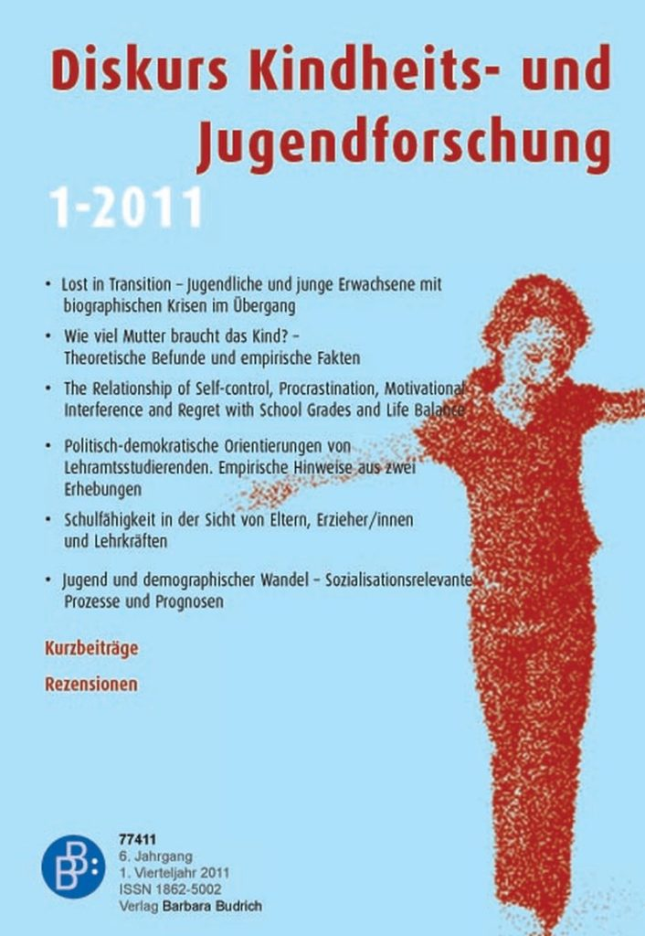Diskurs Kindheits- und Jugendforschung / Discourse. Journal of Childhood and Adolescence Research 1-2011: Freie Beiträge