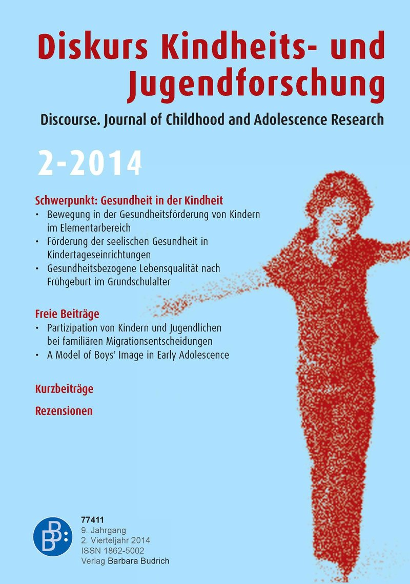 Diskurs Kindheits- und Jugendforschung / Discourse. Journal of Childhood and Adolescence Research 2-2014: Gesundheit in der Kindheit