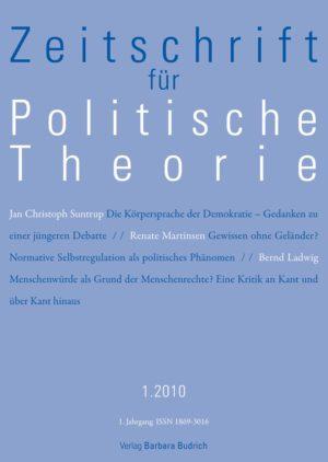 ZPTh – Zeitschrift für Politische Theorie 1-2010: Freie Beiträge