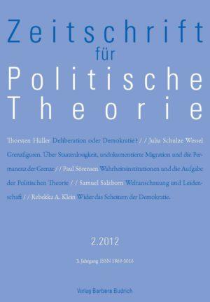 ZPTh – Zeitschrift für Politische Theorie 1-2012: Freie Beiträge