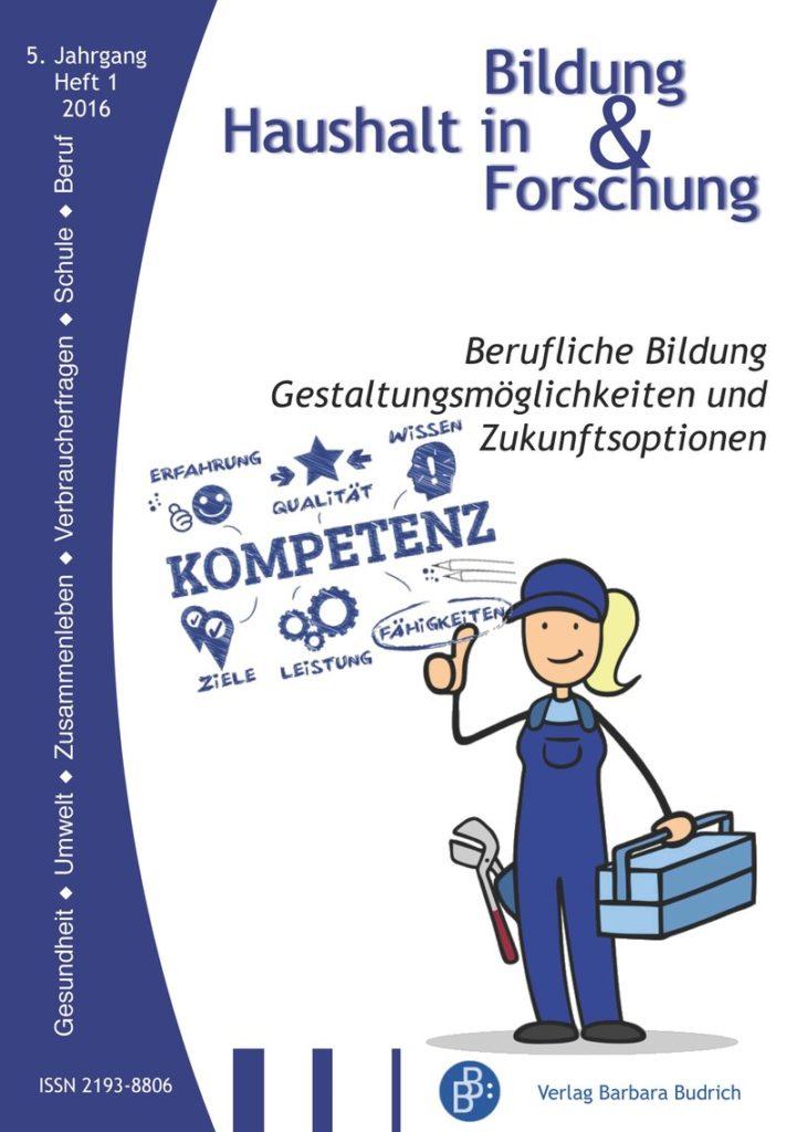 HiBiFo – Haushalt in Bildung & Forschung 1-2016: Berufliche Bildung. Gestaltungsmöglichkeiten und Zukunftsoptionen