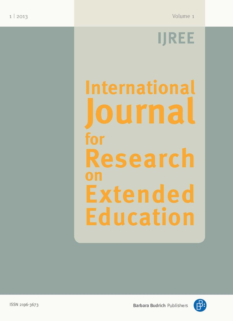 IJREE – International Journal for Research on Extended Education 1-2013: National Research Reports I