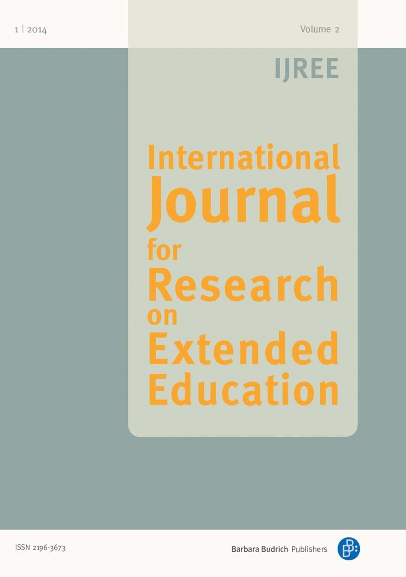 IJREE – International Journal for Research on Extended Education 1-2014: National Research Reports II