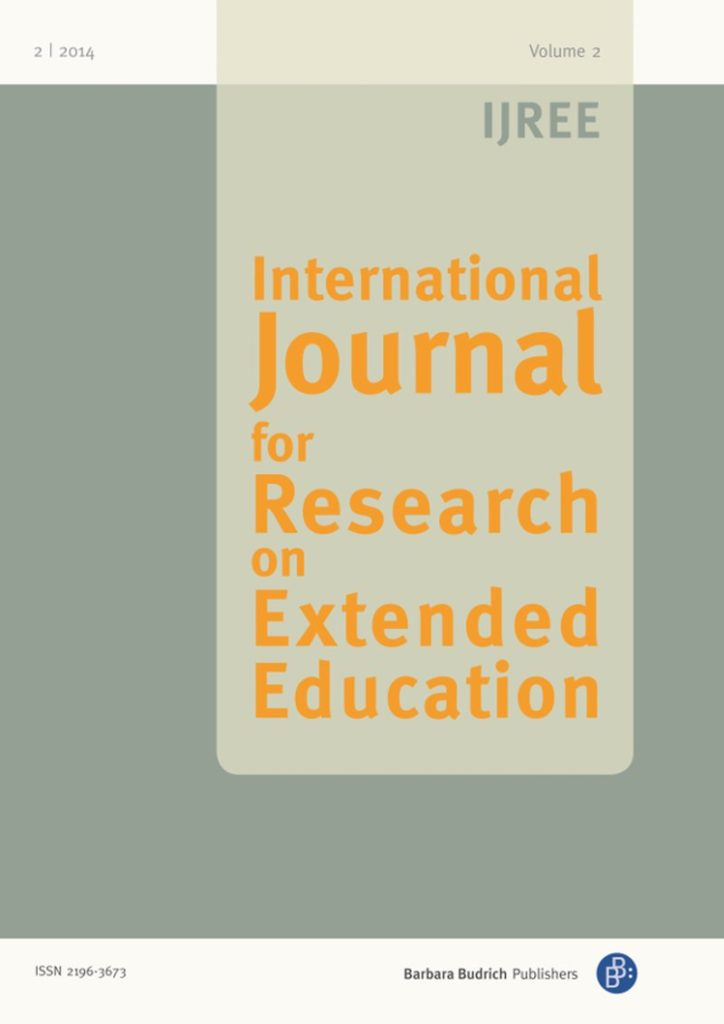 IJREE – International Journal for Research on Extended Education 2-2014: Collaborative Engagement in Extended Learning