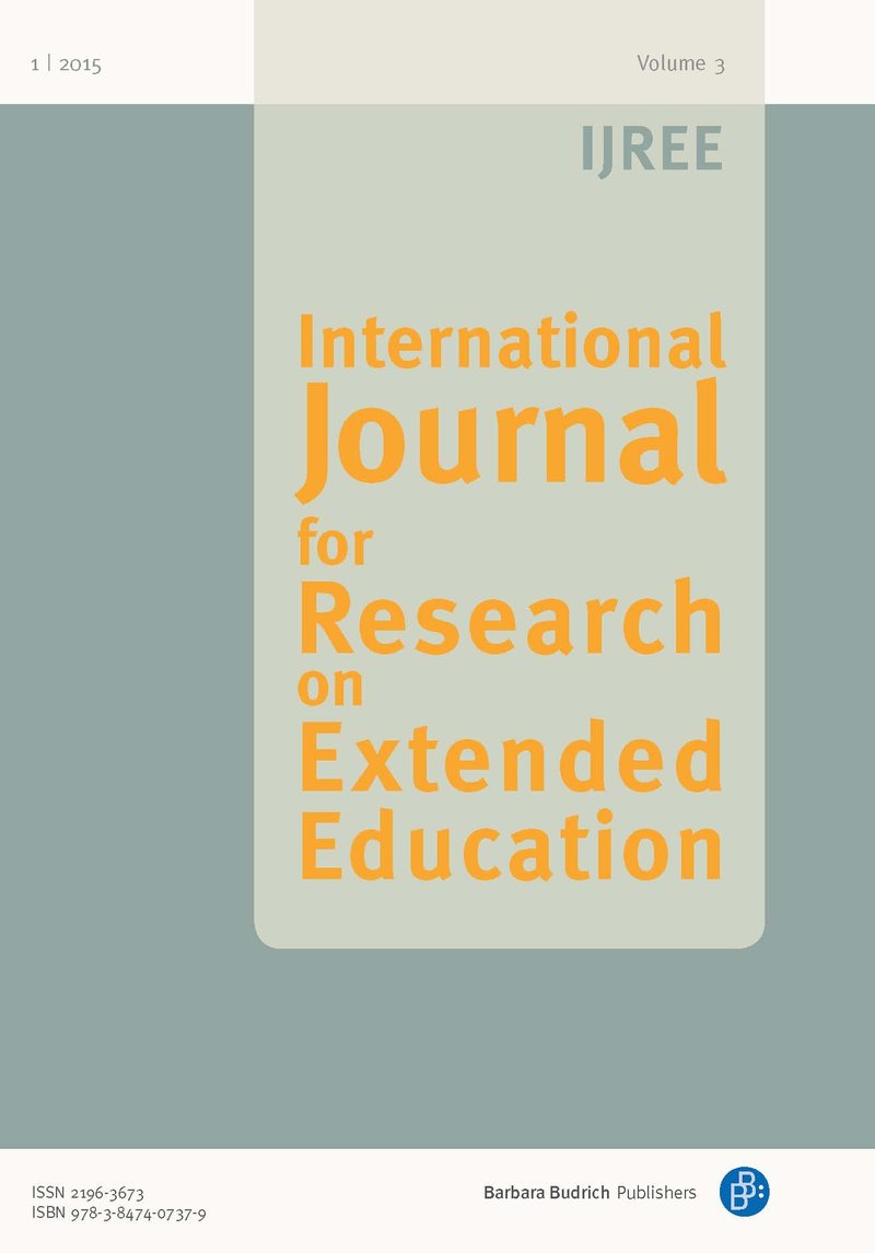 IJREE – International Journal for Research on Extended Education 1-2015: Free Contributions