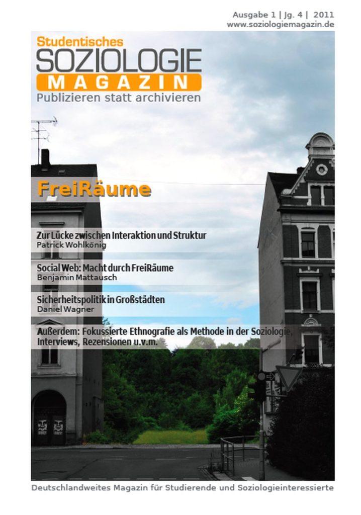 Soziologiemagazin 1-2011: FreiRäume