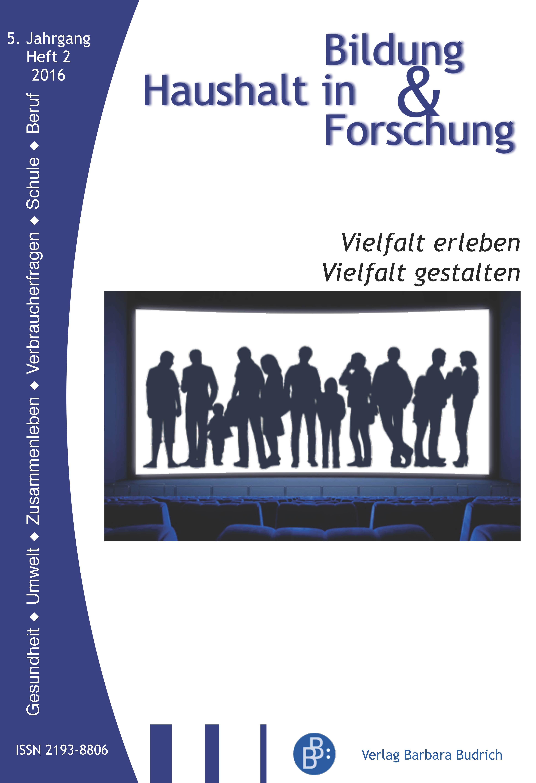 HiBiFo – Haushalt in Bildung & Forschung 2-2016: Vielfalt erleben. Vielfalt gestalten