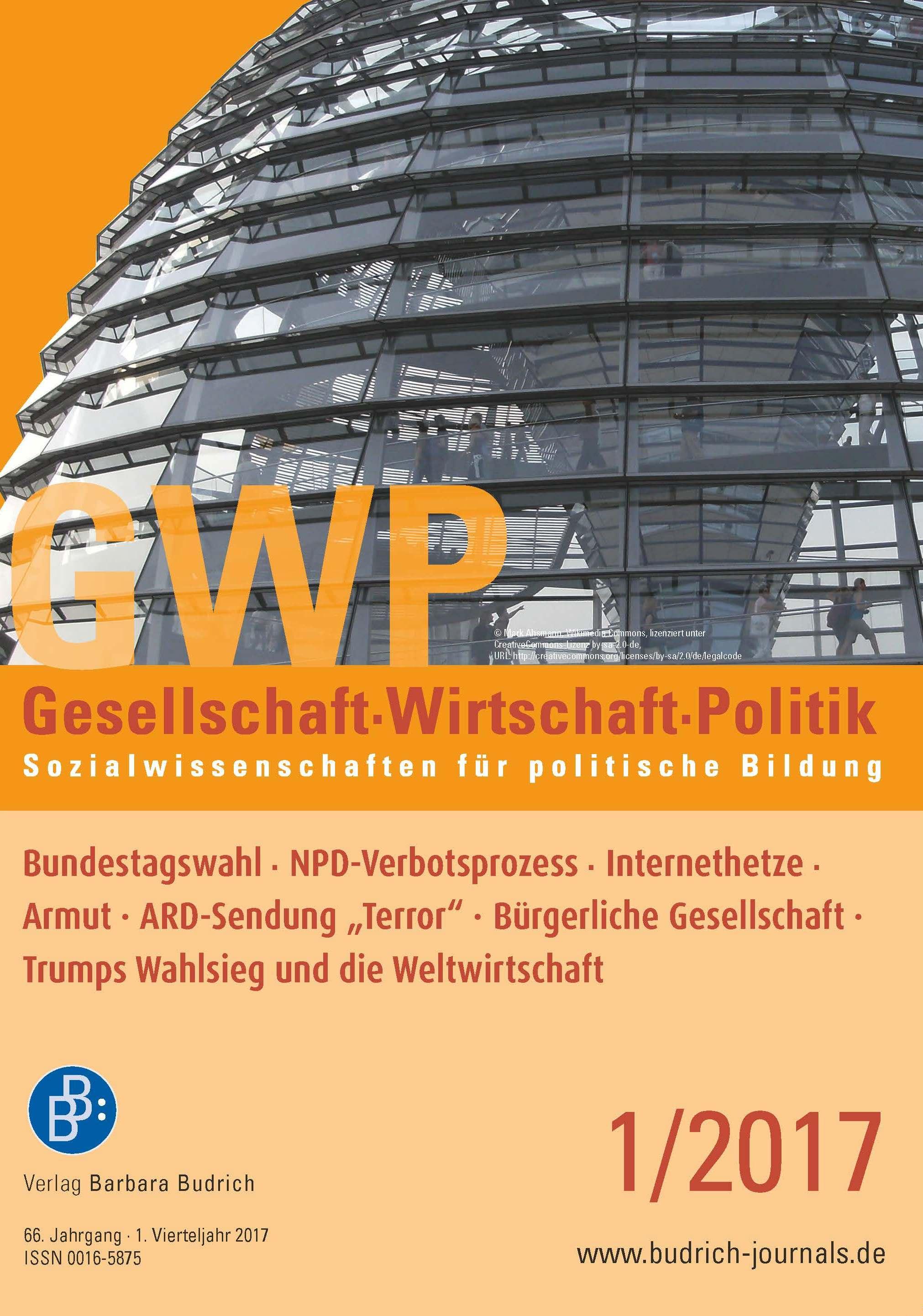 GWP – Gesellschaft. Wirtschaft. Politik 1-2017