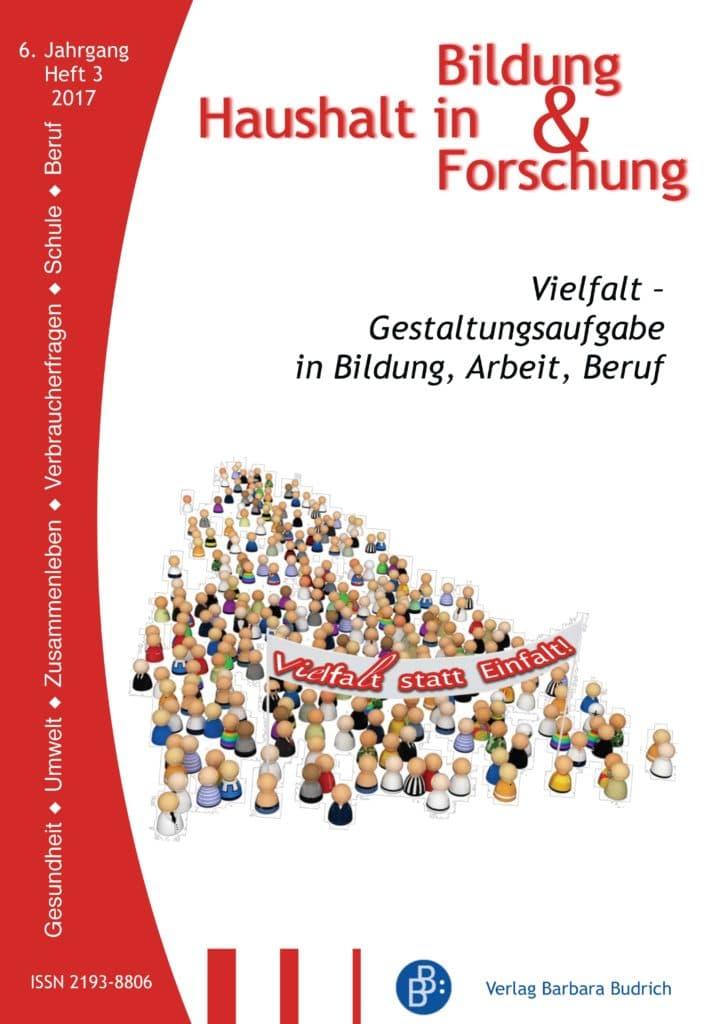 HiBiFo – Haushalt in Bildung & Forschung 3-2017: Vielfalt – Gestaltungsaufgabe in Bildung, Arbeit, Beruf