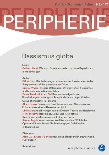 PERIPHERIE – Politik • Ökonomie • Kultur 2-2017: Rassismus global