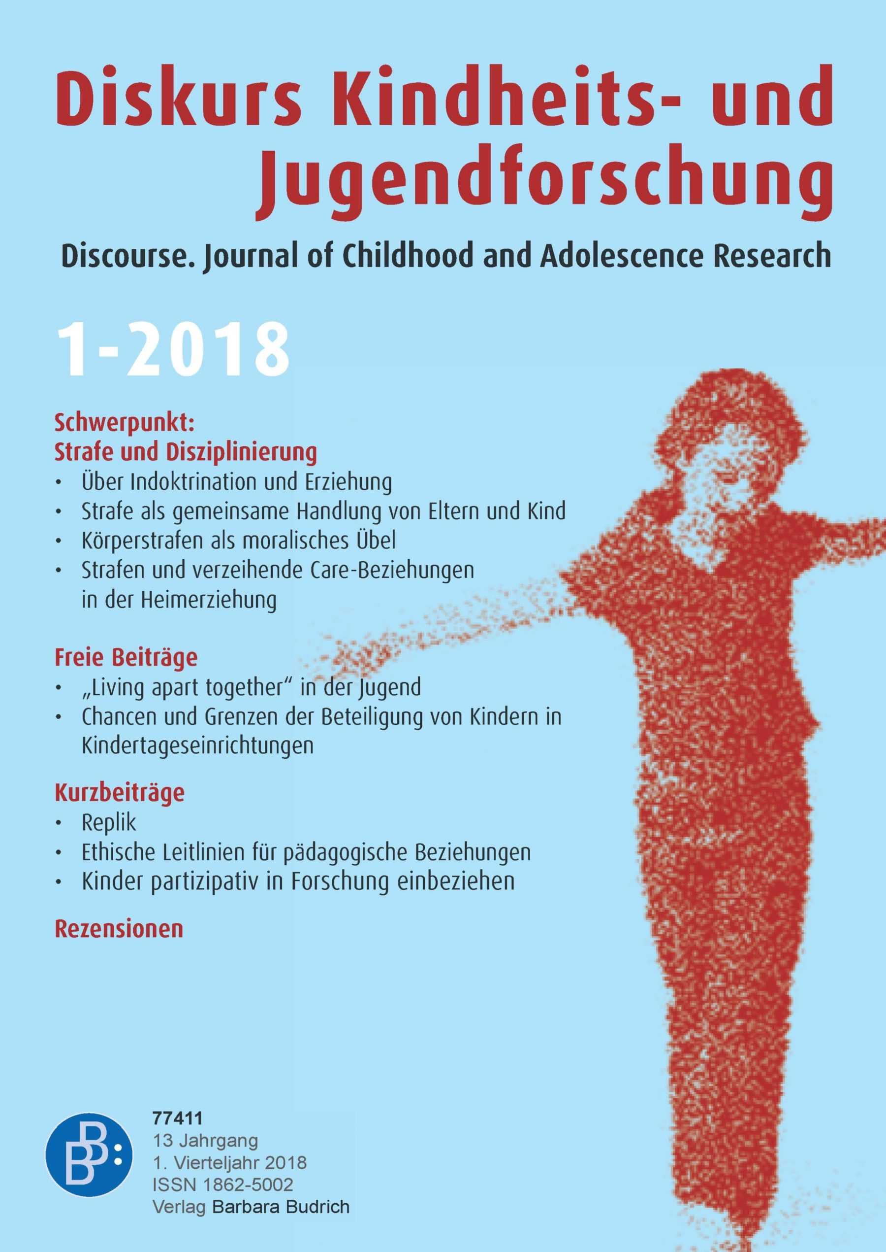 Diskurs Kindheits- und Jugendforschung / Discourse. Journal of Childhood and Adolescence Research 1-2018: Strafe und Disziplinierung