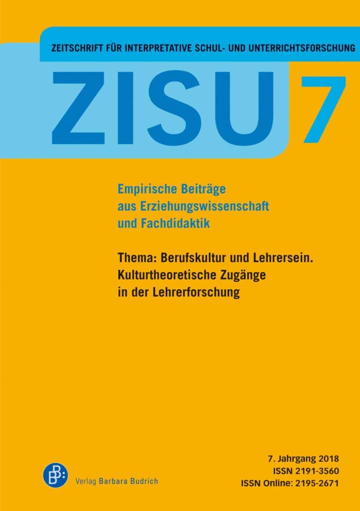 ZISU – Zeitschrift für interpretative Schul- und Unterrichtsforschung
