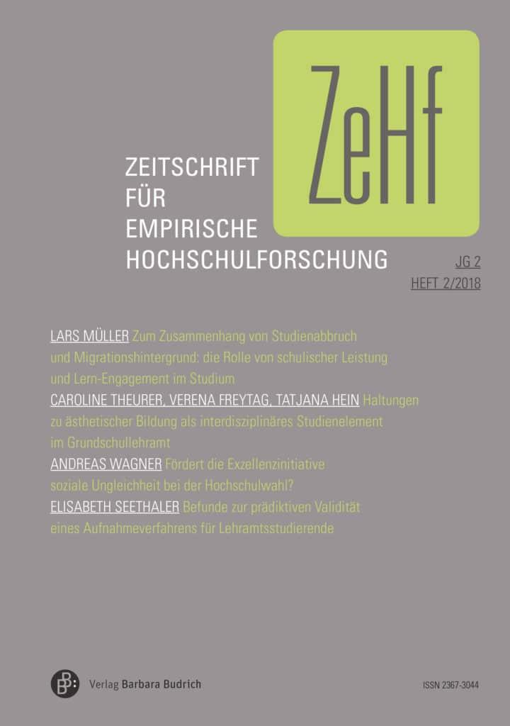 ZeHf – Zeitschrift für empirische Hochschulforschung