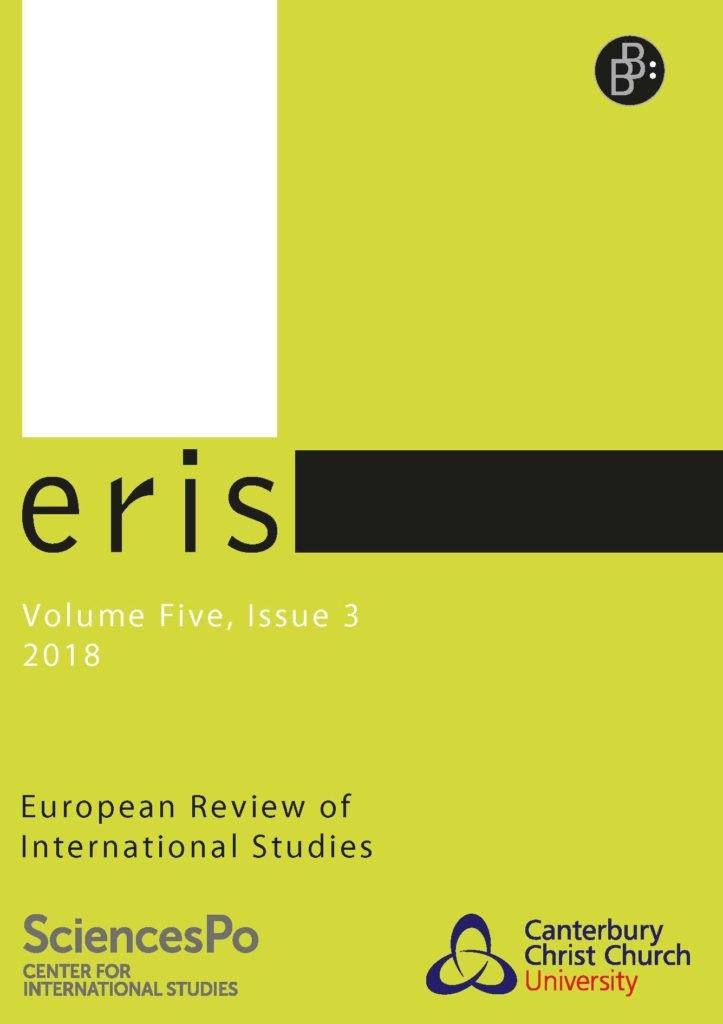 ERIS – European Review of International Studies