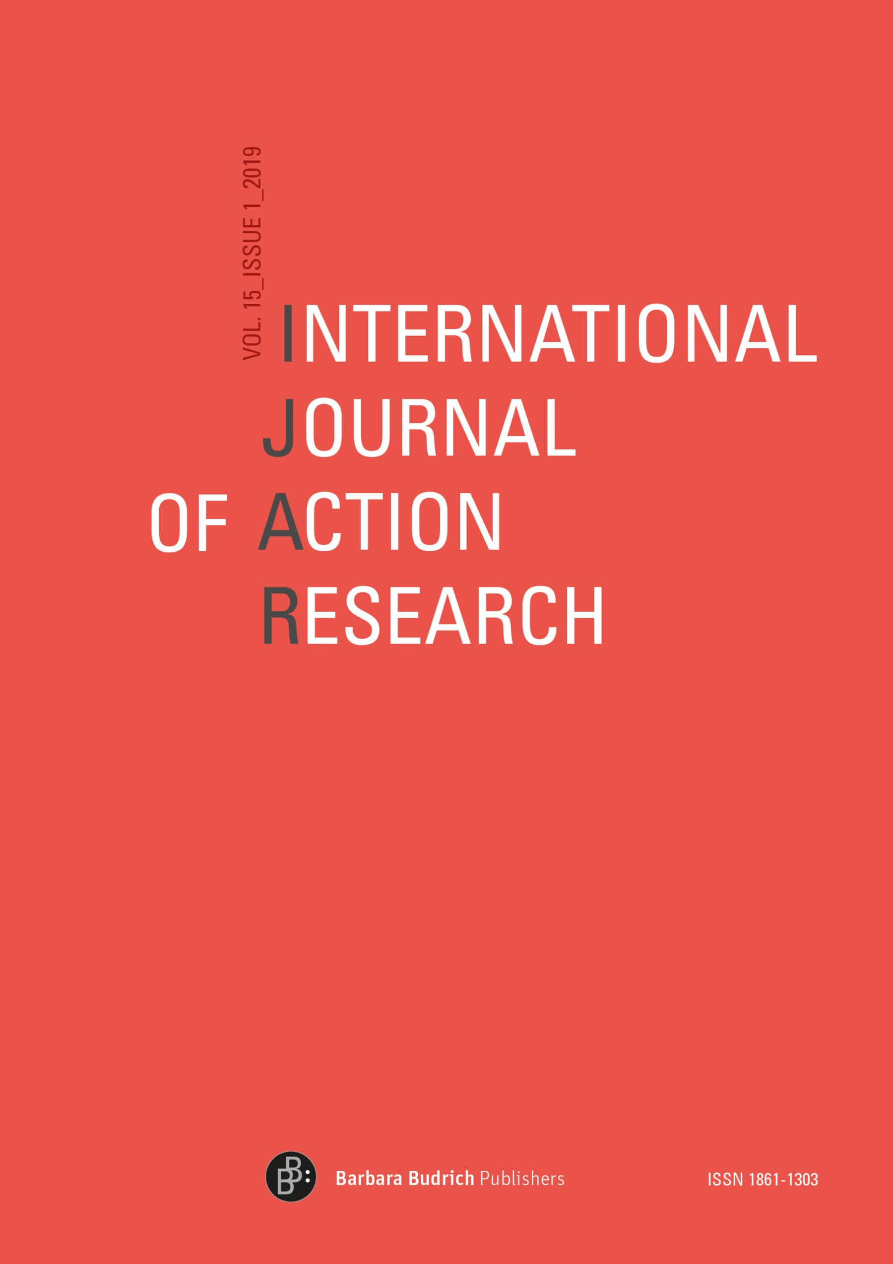 IJAR – International Journal of Action Research 1-2019