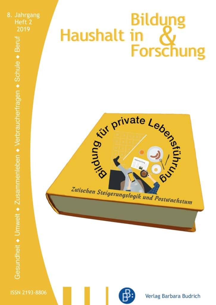 HiBiFo – Haushalt in Bildung & Forschung 2-2019: Bildung für private Lebensführung