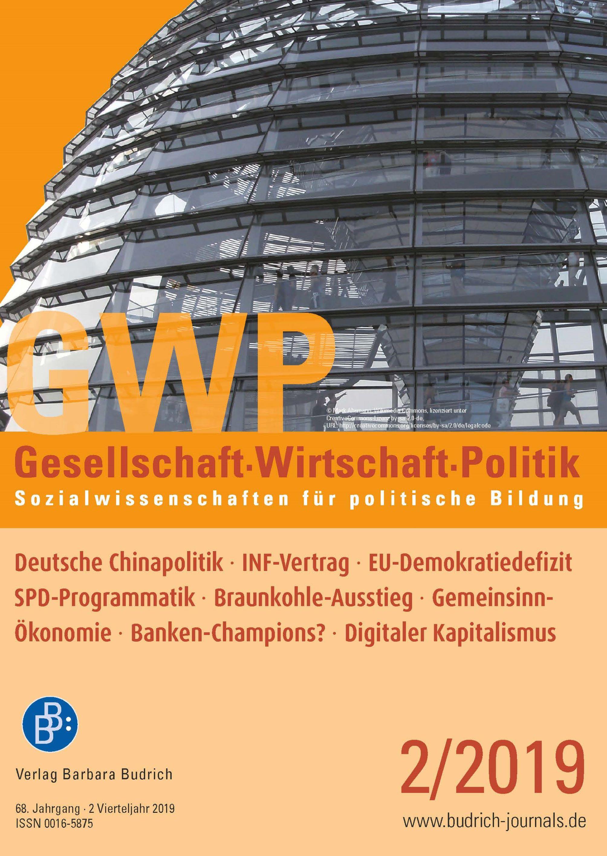 GWP – Gesellschaft. Wirtschaft. Politik 2-2019