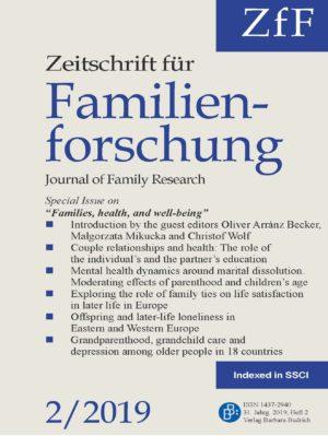 ZfF – Zeitschrift für Familienforschung / Journal of Family Research 2-2019