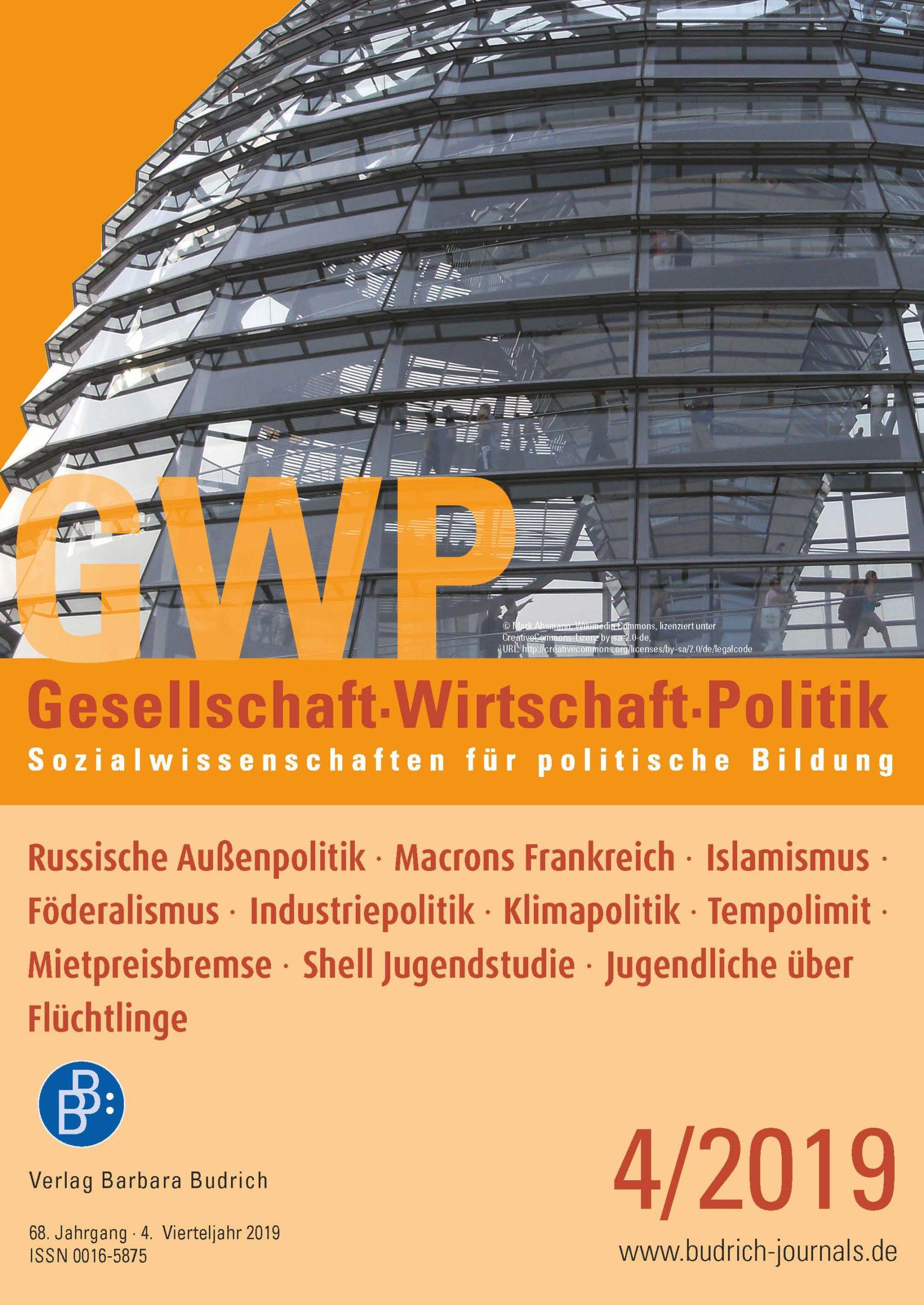 GWP – Gesellschaft. Wirtschaft. Politik 4-2019