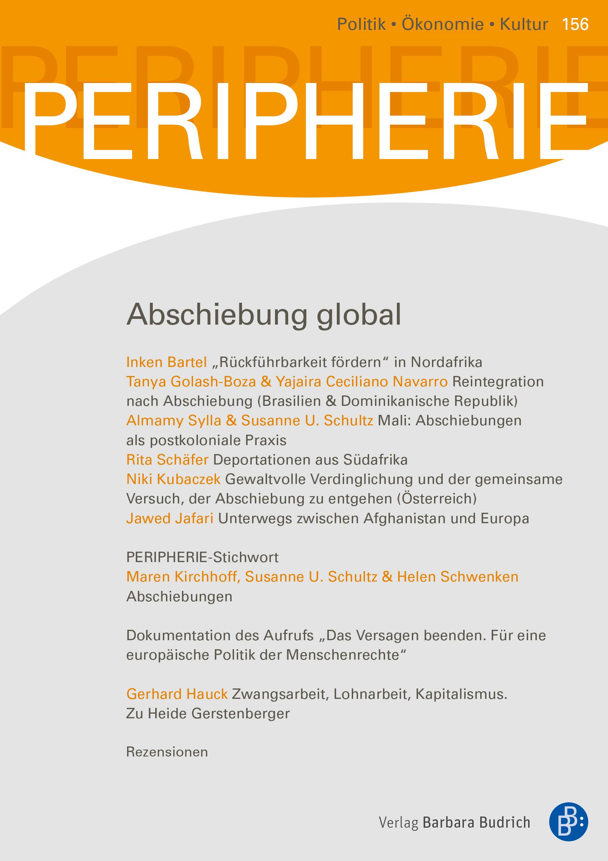 PERIPHERIE – Politik • Ökonomie • Kultur 3-2019: Abschiebung global