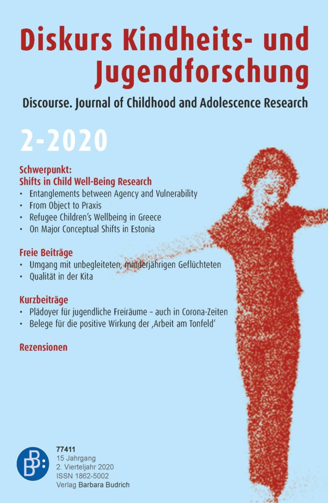 Diskurs Kindheits- und Jugendforschung / Discourse. Journal of Childhood and Adolescence Research 2-2020: Shifts in Child Well-Being Research