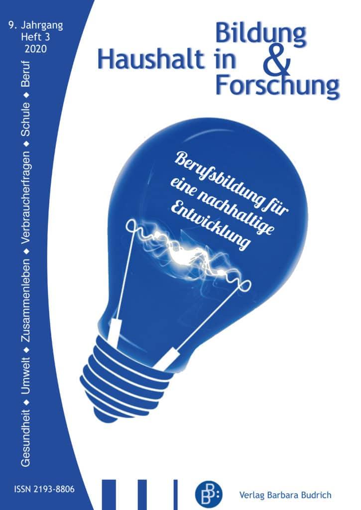HiBiFo – Haushalt in Bildung & Forschung 3-2020: Berufsbildung für eine nachhaltige Entwicklung