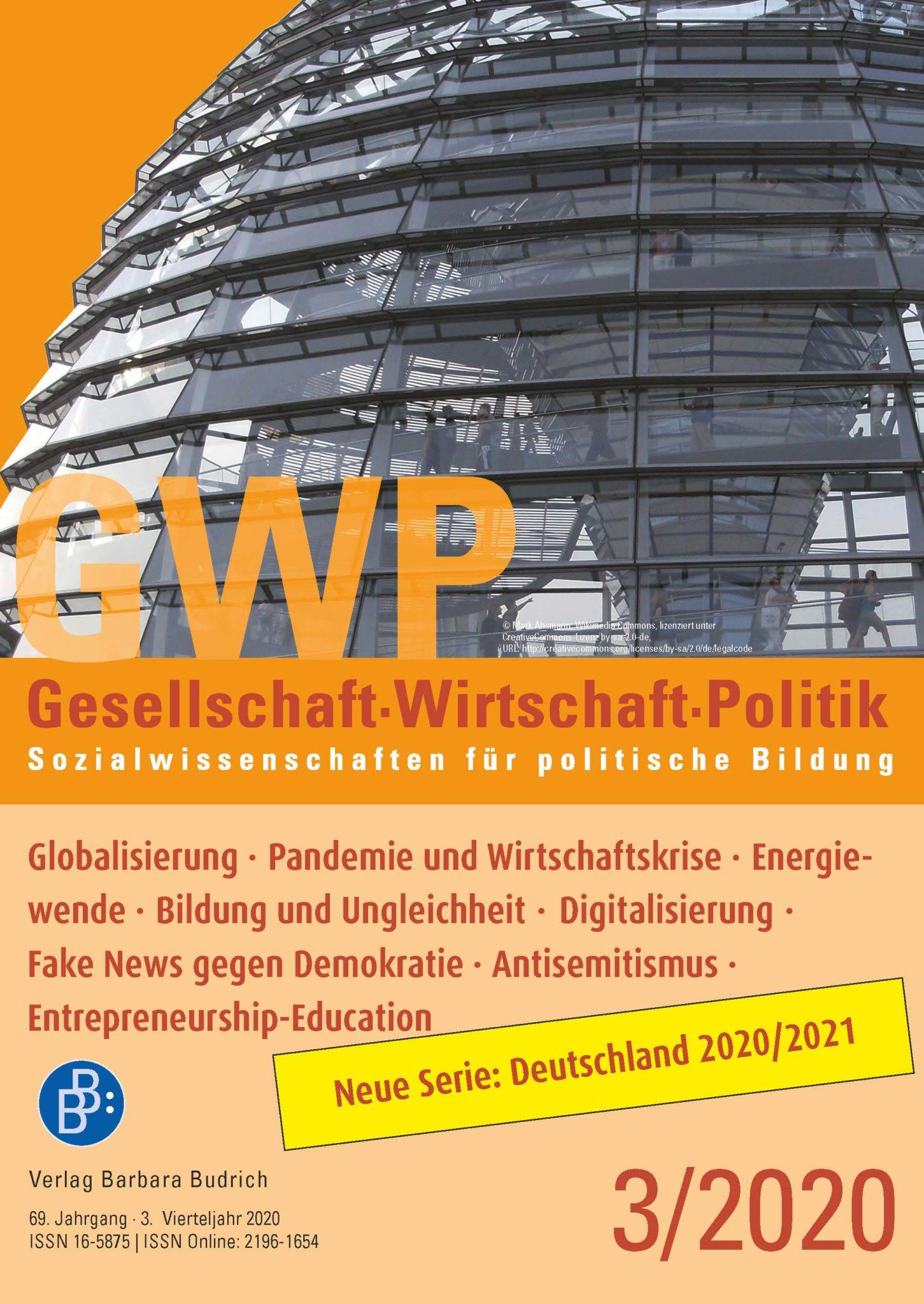 GWP – Gesellschaft. Wirtschaft. Politik 3-2020