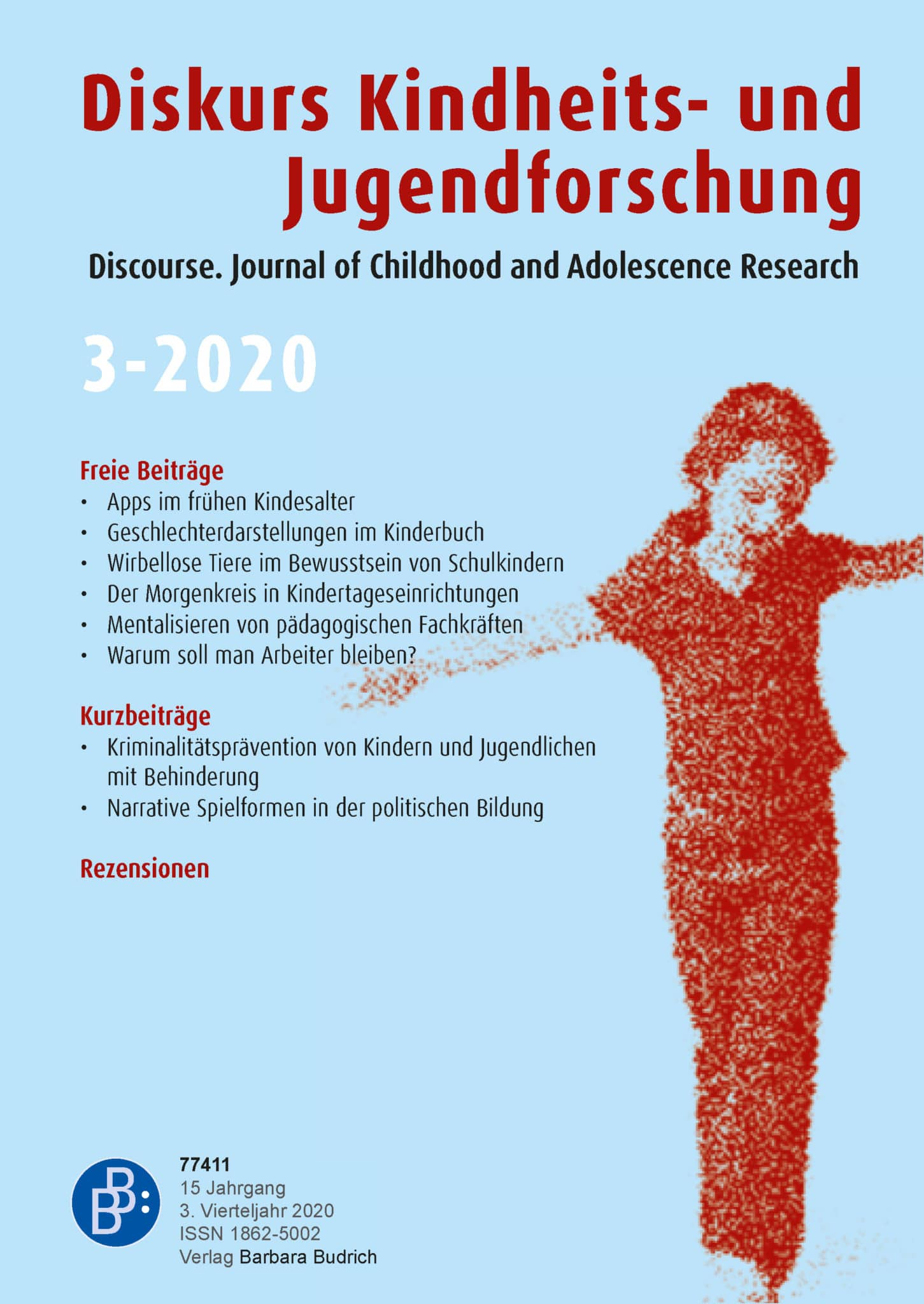 Diskurs Kindheits- und Jugendforschung / Discourse. Journal of Childhood and Adolescence Research 3-2020: Freie Beiträge