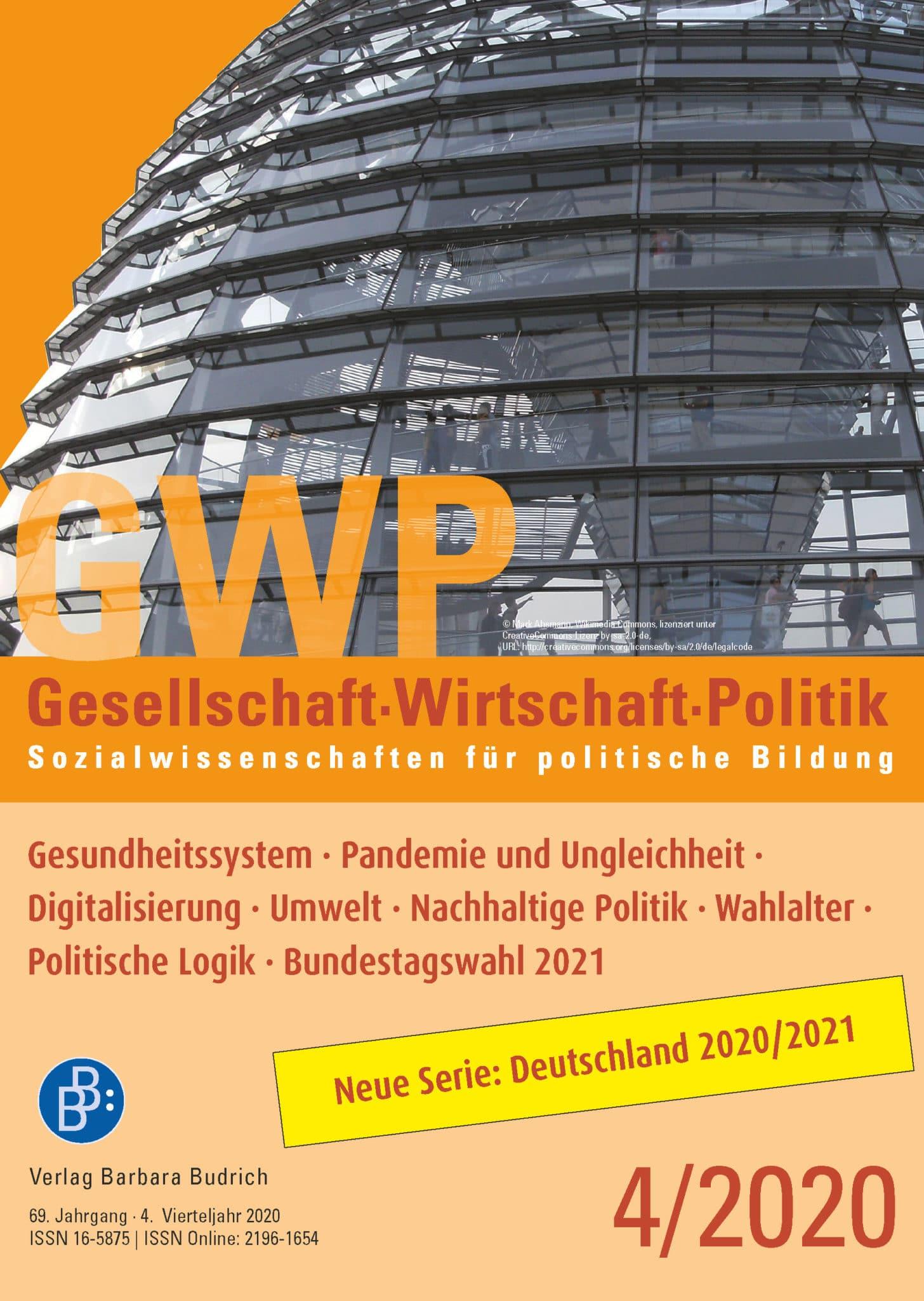 GWP – Gesellschaft. Wirtschaft. Politik 4-2020