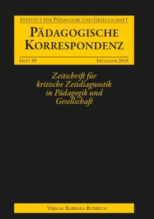 Pädagogische Korrespondenz 59 (1-2019) | Freie Beiträge