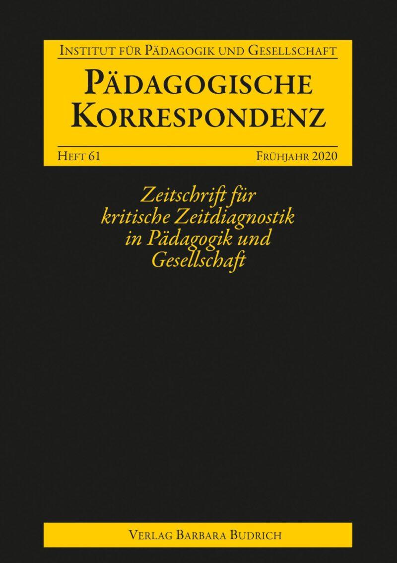 Pädagogische Korrespondenz 61 (1-2020) | Freie Beiträge