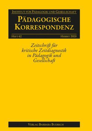 Pädagogische Korrespondenz 62 (2-2020) | Freie Beiträge
