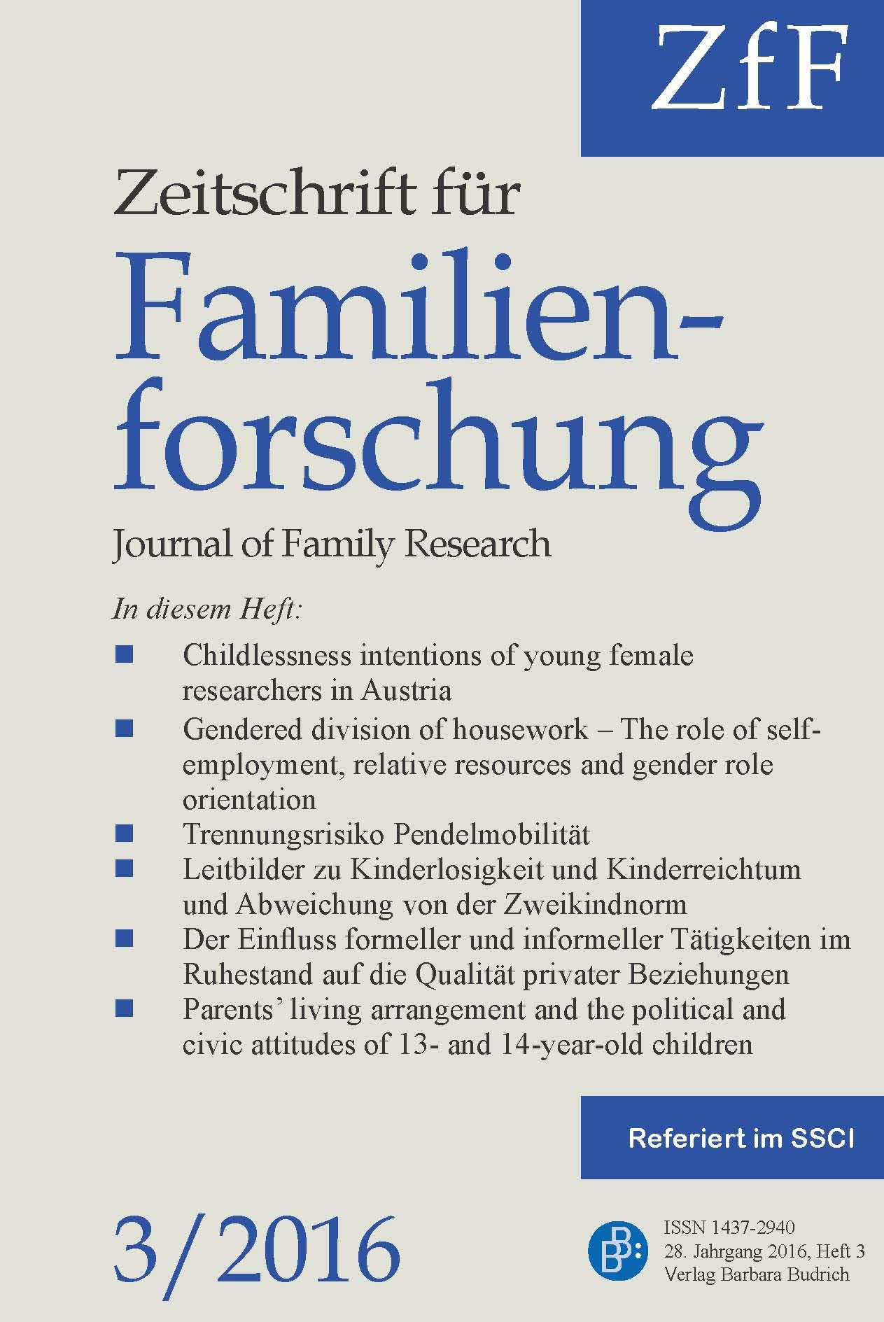 ZfF 3-2016 | Freie Beiträge