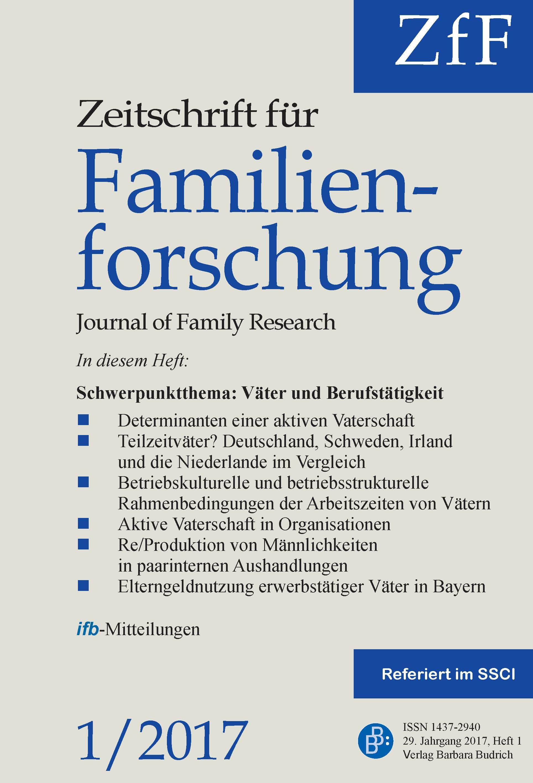 ZfF 1-2017 | Väter und Berufstätigkeit
