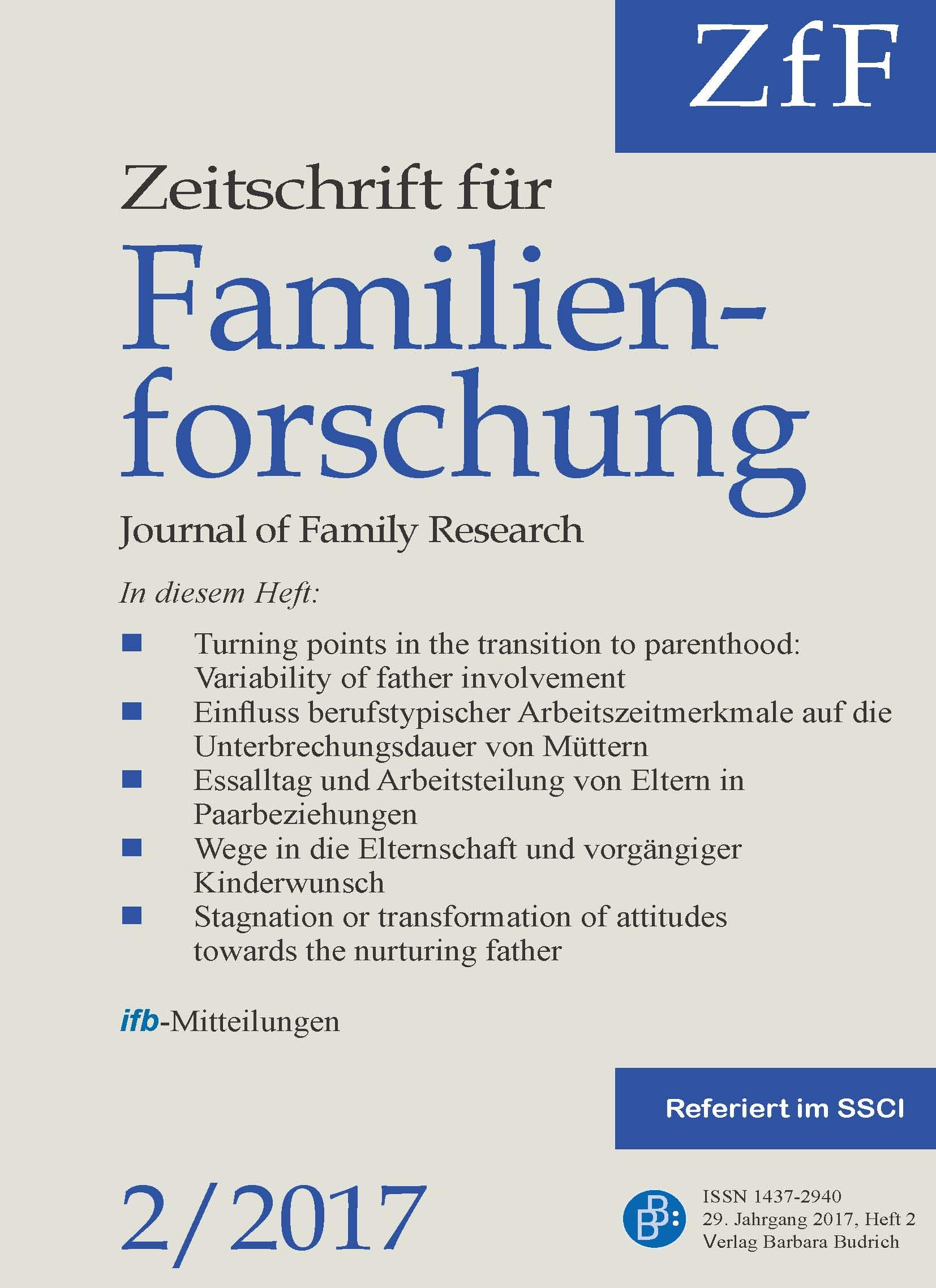 ZfF 2-2017 | Freie Beiträge