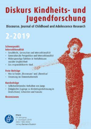 Diskurs 2-2019 | Intersektionalität in der Kindheits- und Jugendforschung