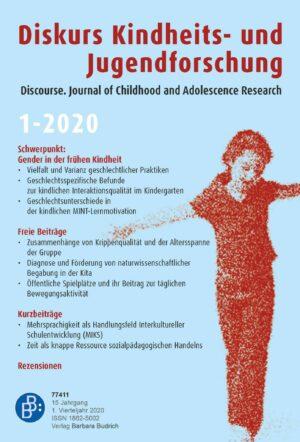 Diskurs 1-2020 | Gender in der frühen Kindheit