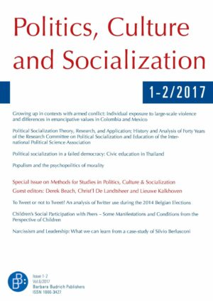 PCS 1+2-2017 | Methods for Studies in Politics, Culture & Socialization (II)