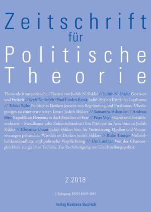 ZPTh 2-2018 | Themenheft zur politischen Theorie von Judith N. Shklar